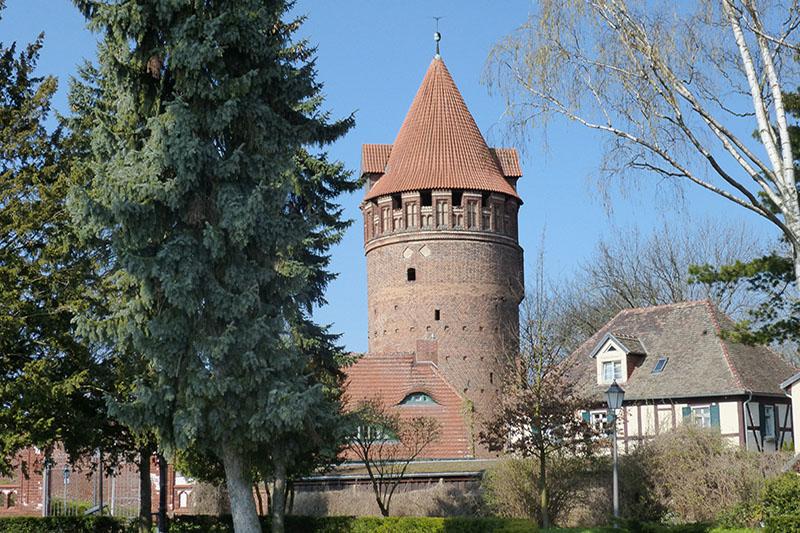 Torturm auf der Burg Tangermünde