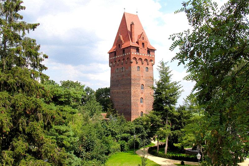 Kapitelturm auf der Burg Tangermünde