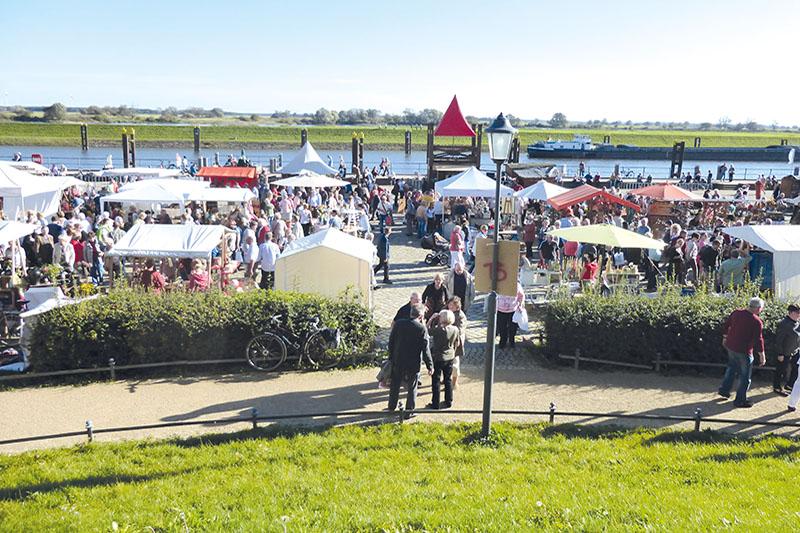 Varanstaltungen - Hafenfest in Tangermünde